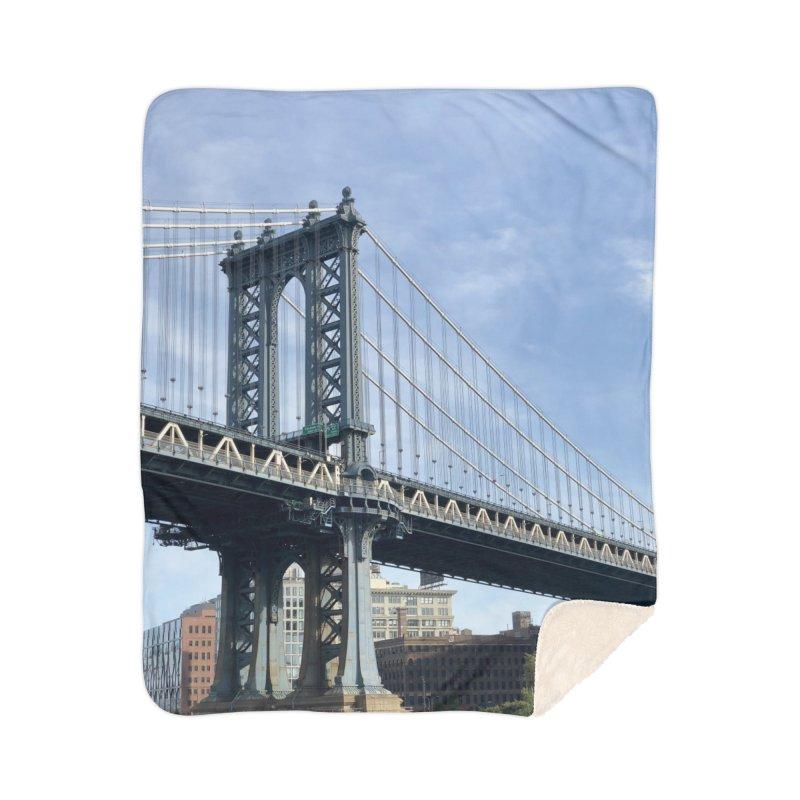 Brooklyn Art Prints Blanket by rubberdanpants