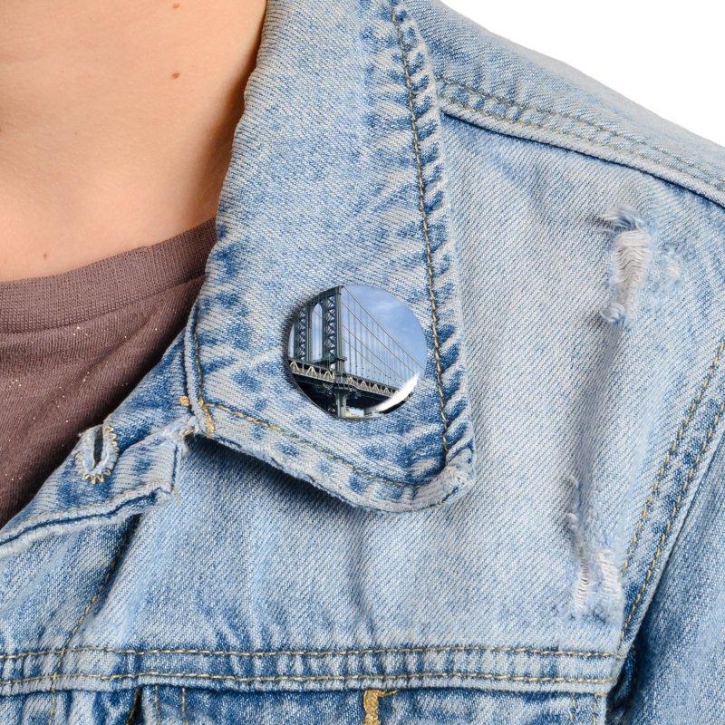 Brooklyn Accessories Button by rubberdanpants