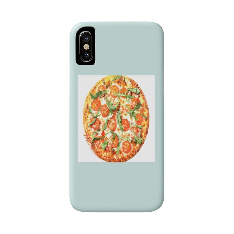 Pizza Shirt Accessories Phone Case by rubberdanpants