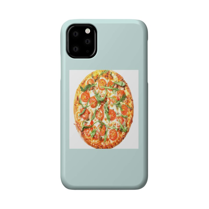 Pizza Shirt Accessories Phone Case by rubberdanpants