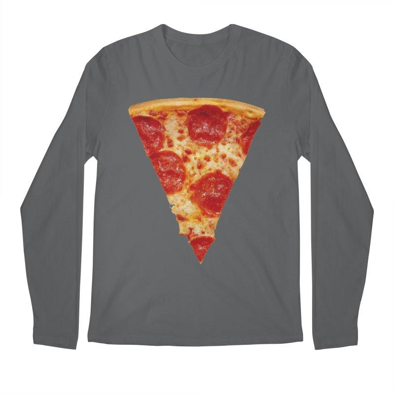 Pizza Shirt Men's Regular Longsleeve T-Shirt by rubberdanpants