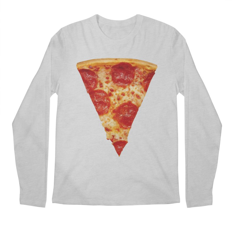 Pizza Shirt Men's Longsleeve T-Shirt by rubberdanpants