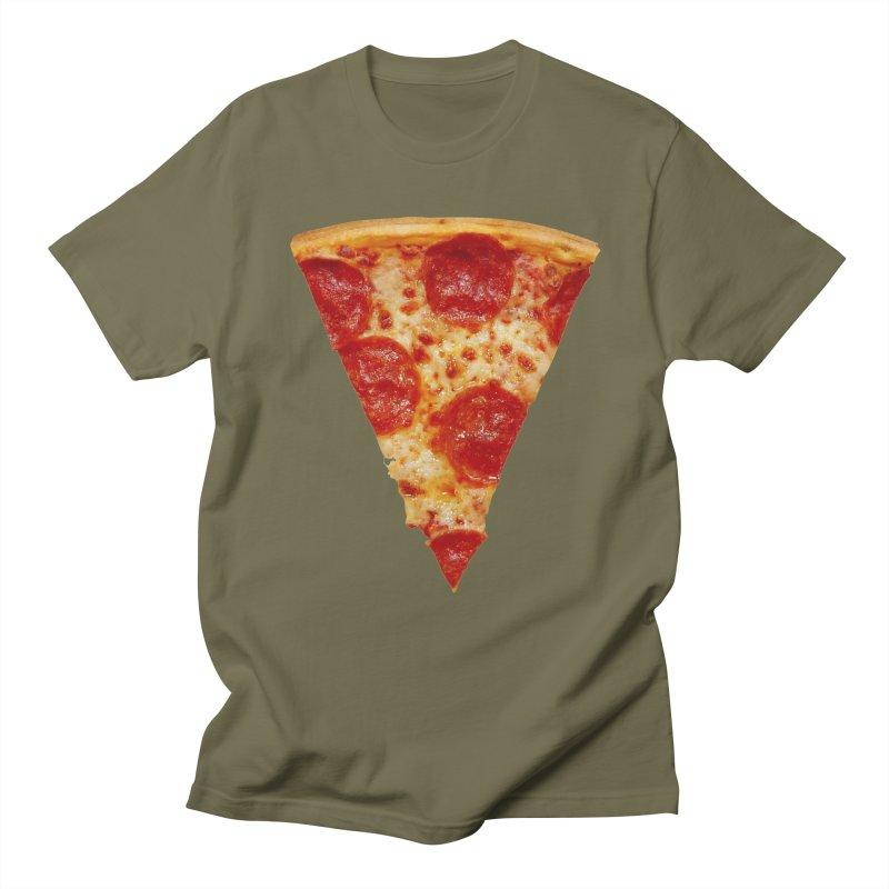 Pizza Shirt Men's T-shirt by rubberdanpants