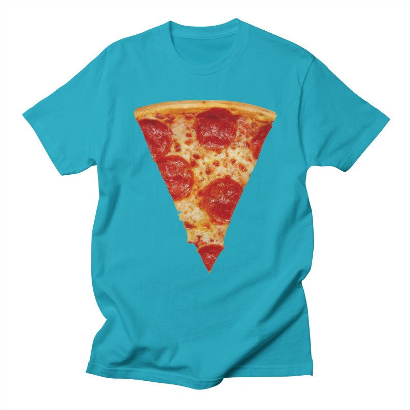 Pizza Shirt Men's T-shirt by rubberdanpants
