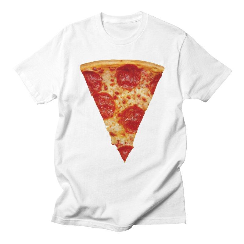 Pizza Shirt Men's Regular T-Shirt by rubberdanpants