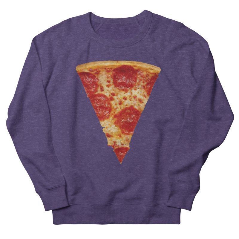 Pizza Shirt Men's French Terry Sweatshirt by rubberdanpants