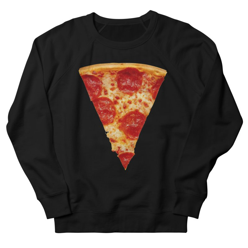 Pizza Shirt Men's French Terry Sweatshirt by rubberdanpants