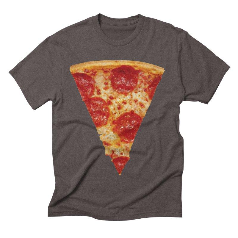 Pizza Shirt Men's Triblend T-shirt by rubberdanpants