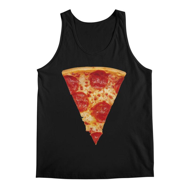 Pizza Shirt Men's Regular Tank by rubberdanpants