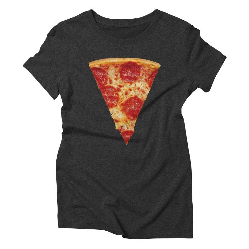 Pizza Shirt Women's Triblend T-Shirt by rubberdanpants
