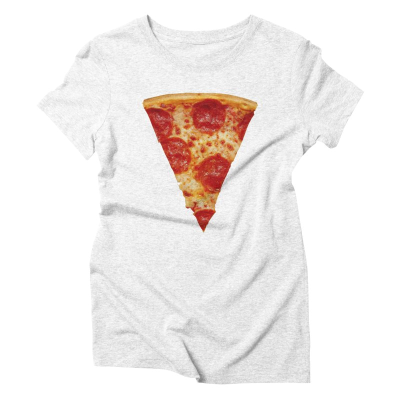 Pizza Shirt Women's Triblend T-shirt by rubberdanpants
