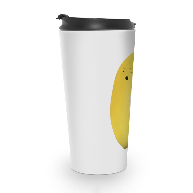 Banana Night Accessories Travel Mug by rubberdanpants