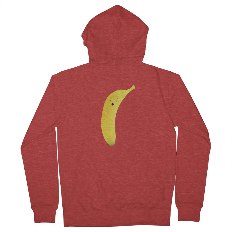 Banana Night Women's French Terry Zip-Up Hoody by rubberdanpants