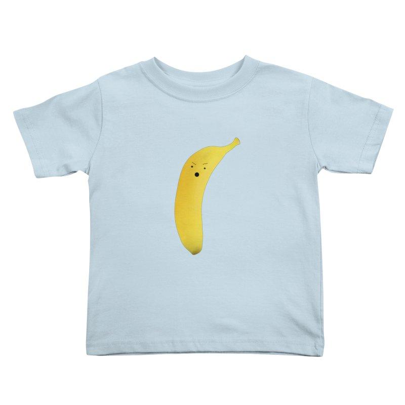 Banana Night Kids Toddler T-Shirt by rubberdanpants