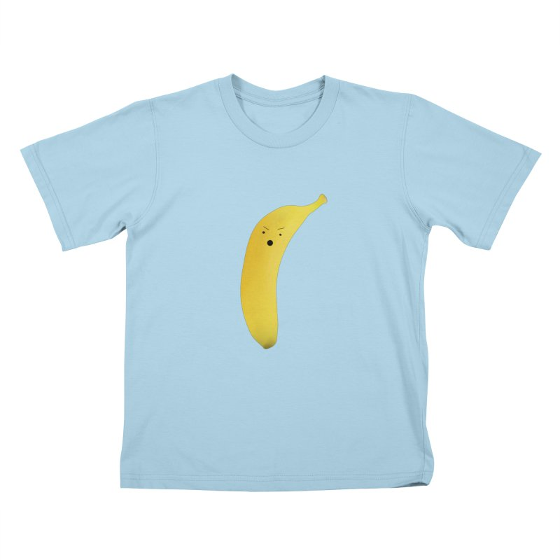 Banana Night Kids T-Shirt by rubberdanpants