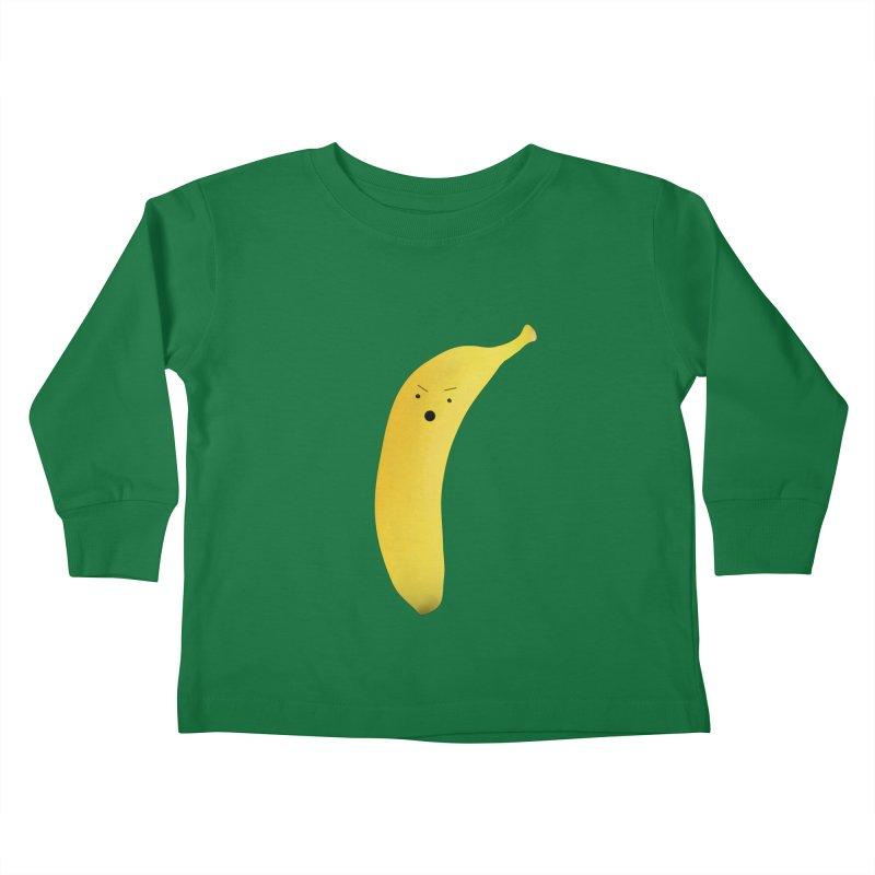 Banana Night Kids Toddler Longsleeve T-Shirt by rubberdanpants