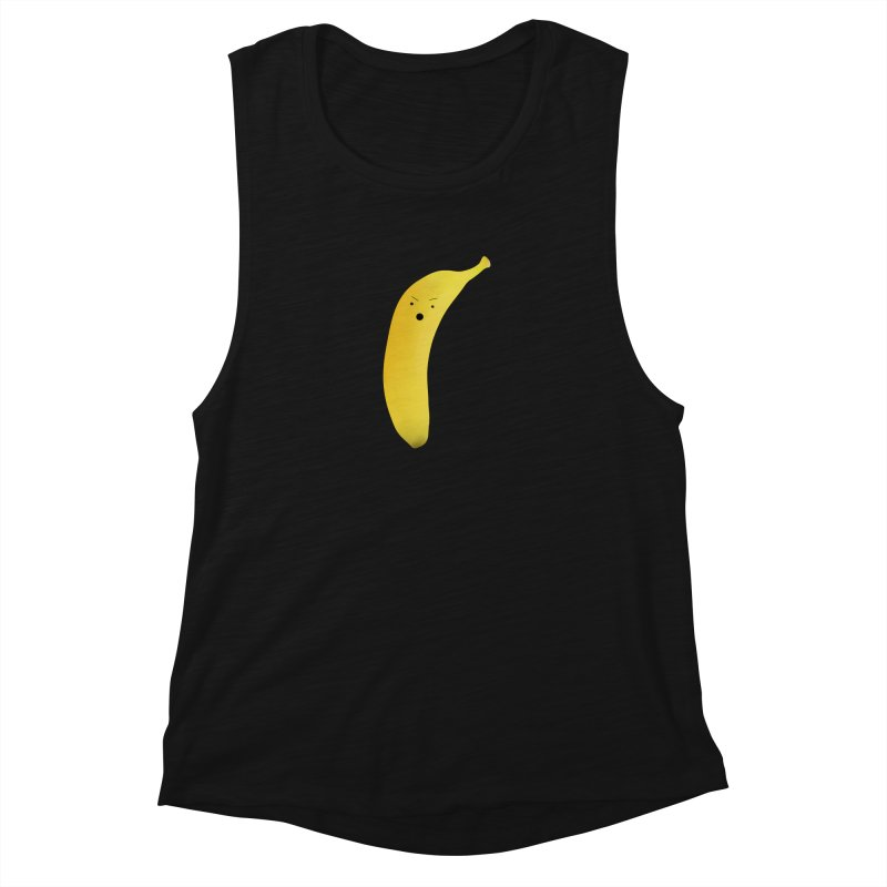 Banana Night Women's Muscle Tank by rubberdanpants