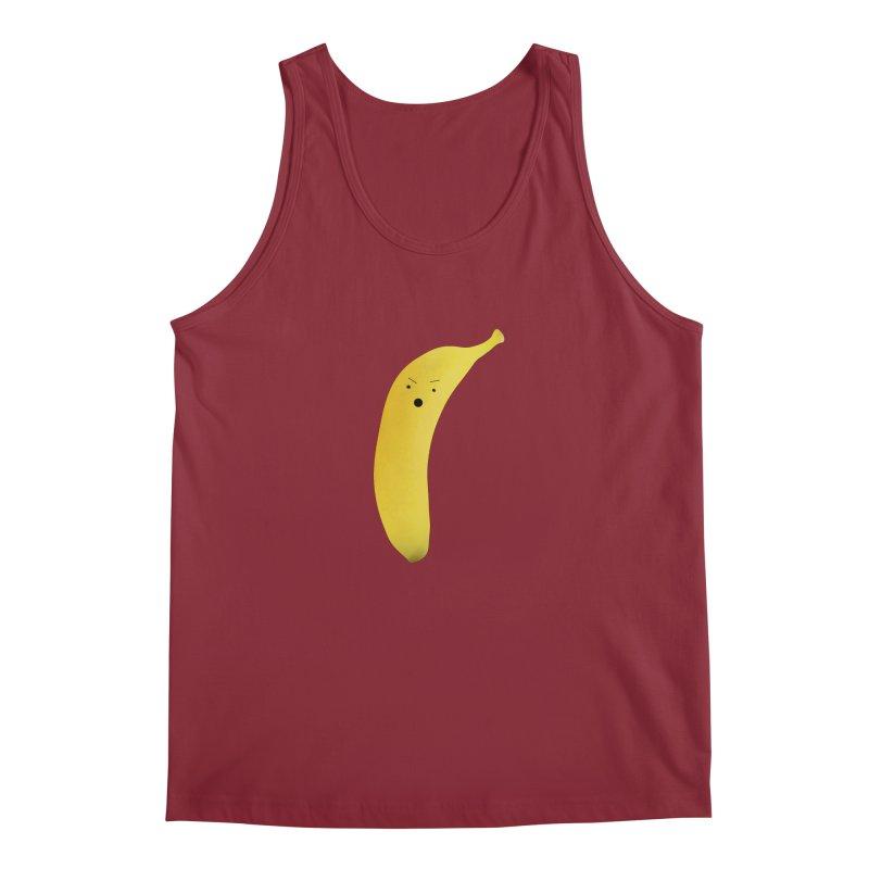 Banana Night Men's Tank by rubberdanpants