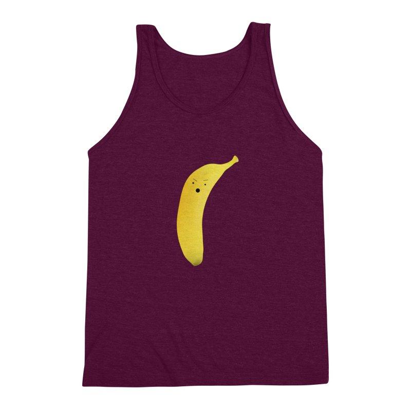 Banana Night Men's Triblend Tank by rubberdanpants