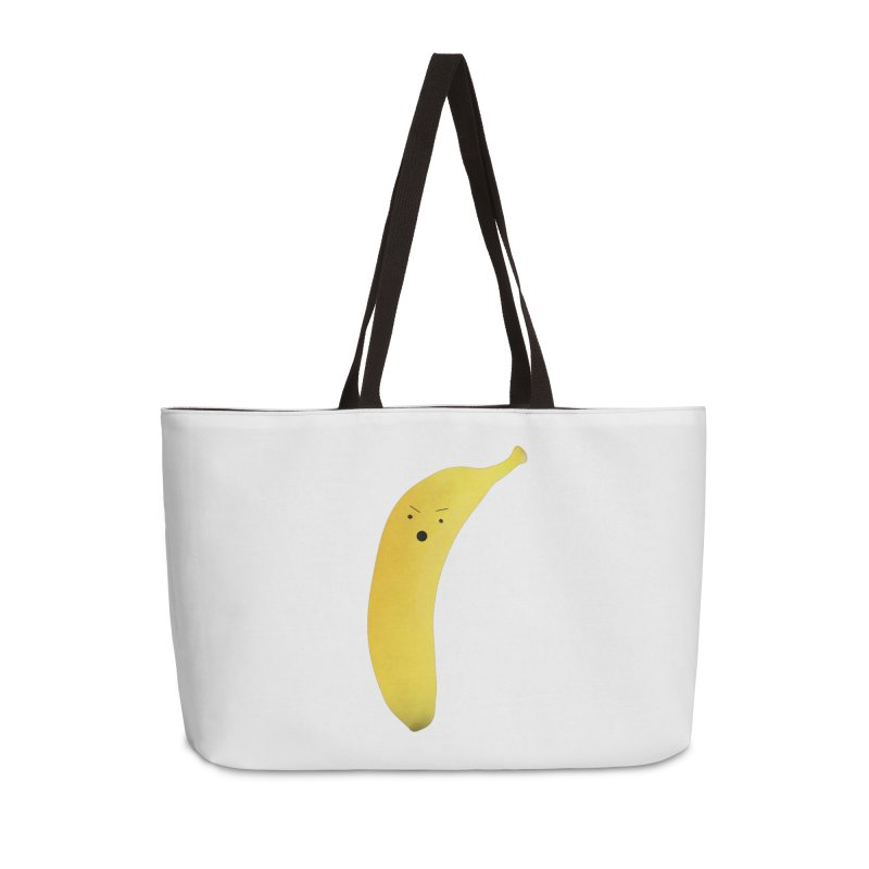 Banana Night in Weekender Bag by rubberdanpants