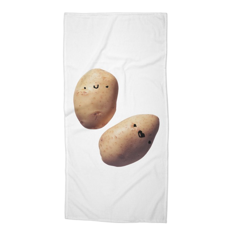 Oh Potatoes Accessories Beach Towel by rubberdanpants