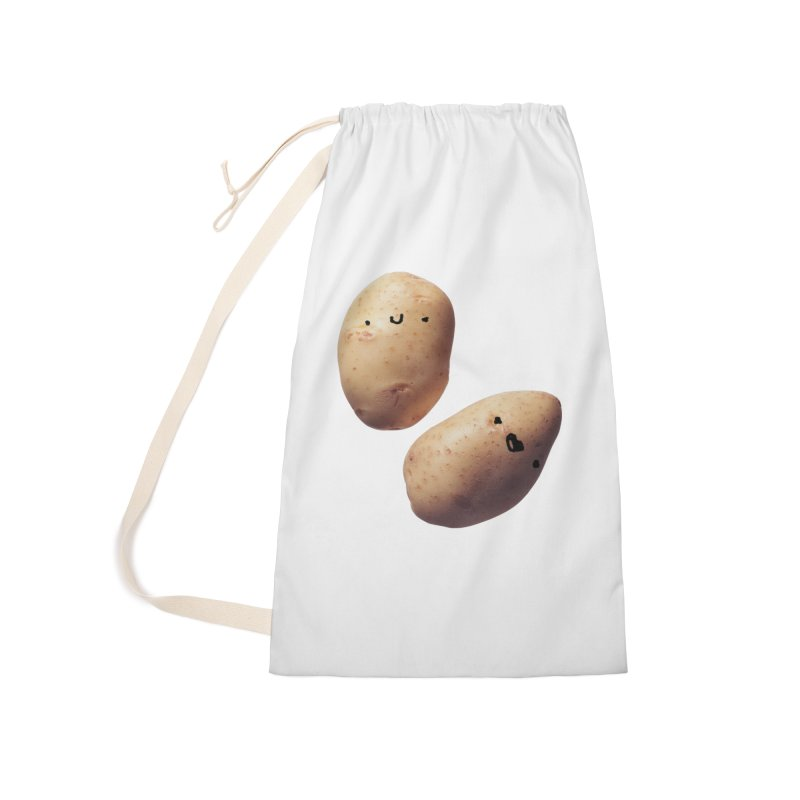 Oh Potatoes Accessories Laundry Bag Bag by rubberdanpants