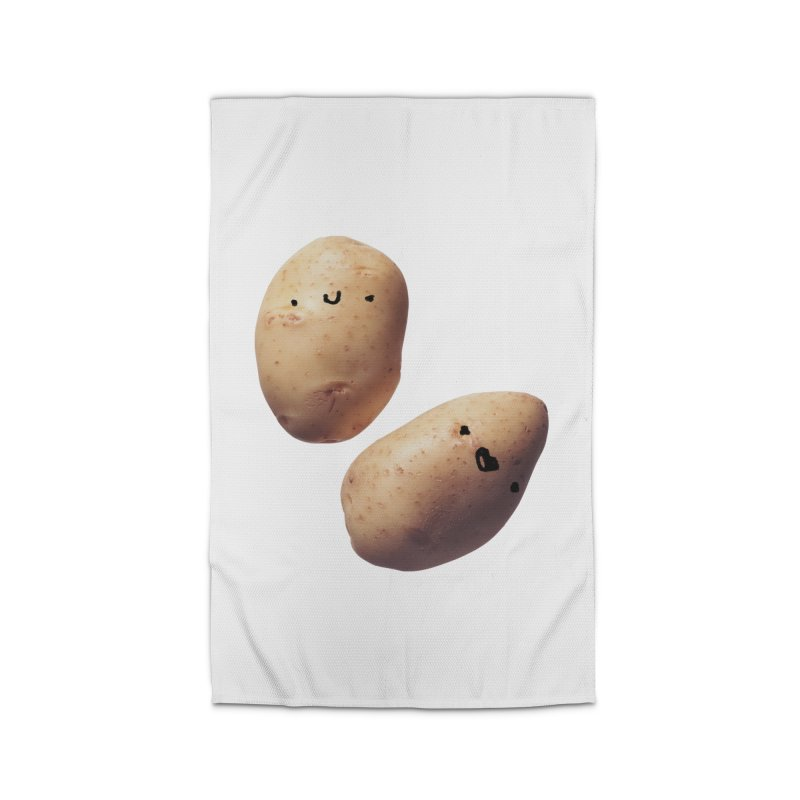 Oh Potatoes Home Rug by rubberdanpants