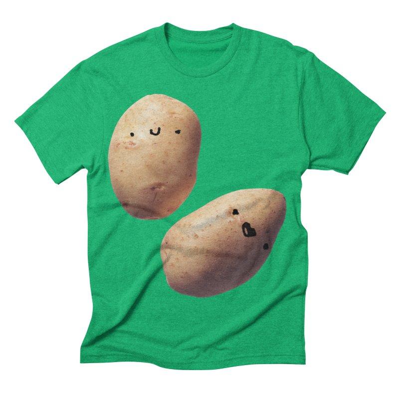 Oh Potatoes Men's Triblend T-shirt by rubberdanpants
