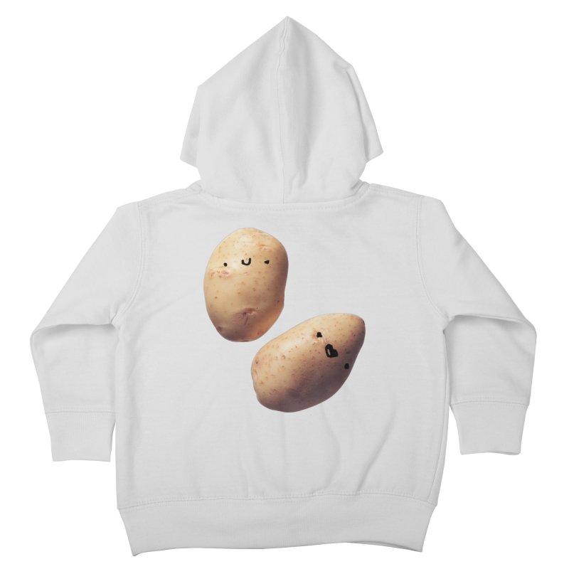 Oh Potatoes Kids Toddler Zip-Up Hoody by rubberdanpants