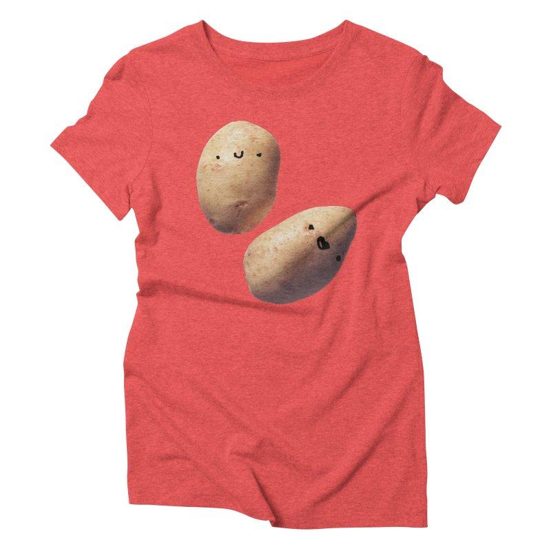 Oh Potatoes Women's Triblend T-shirt by rubberdanpants