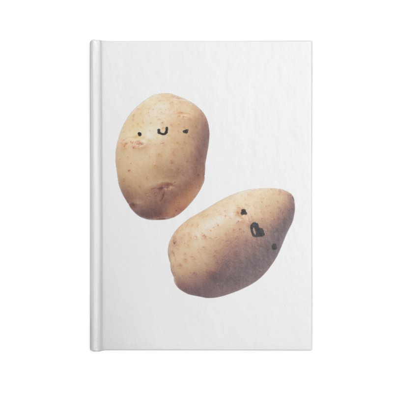 Oh Potatoes Accessories Notebook by rubberdanpants