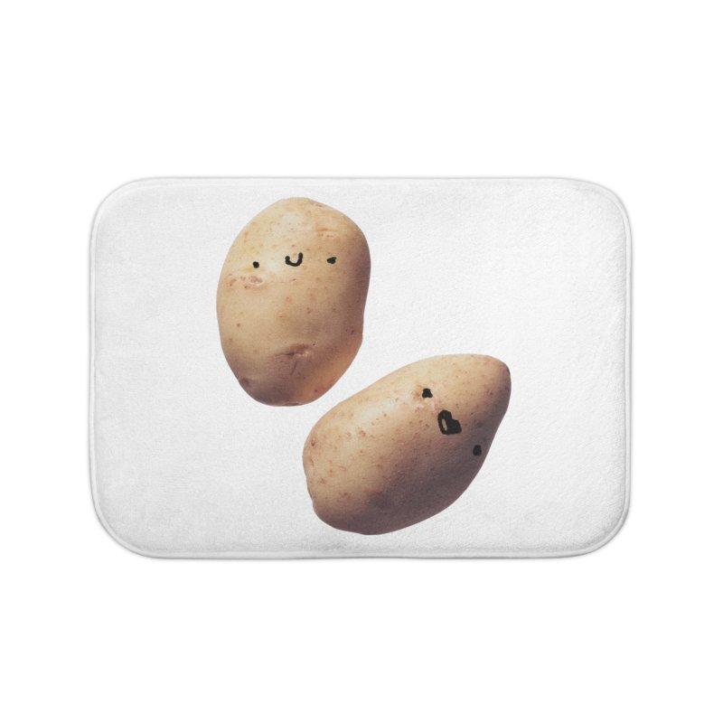 Oh Potatoes Home Bath Mat by rubberdanpants