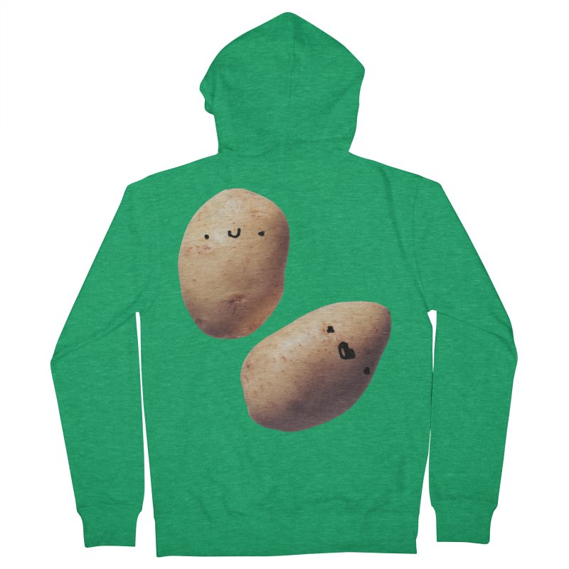 Oh Potatoes Men's Zip-Up Hoody by rubberdanpants