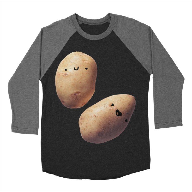 Oh Potatoes Men's Baseball Triblend T-Shirt by rubberdanpants