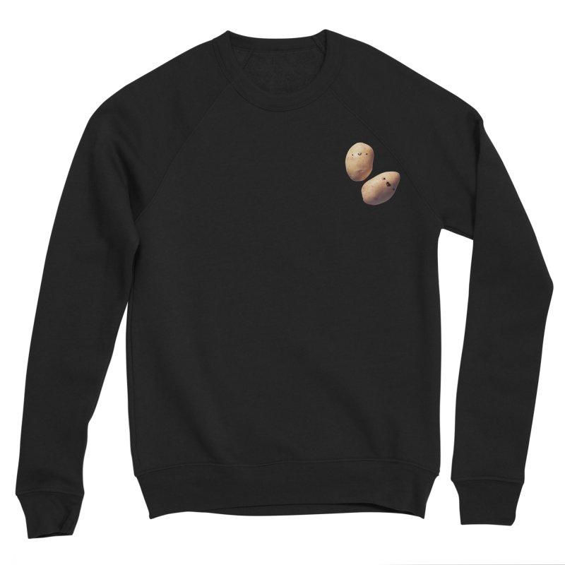 Oh Potatoes Women's Sponge Fleece Sweatshirt by rubberdanpants