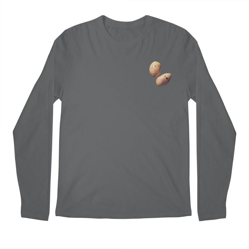 Oh Potatoes Men's Longsleeve T-Shirt by rubberdanpants