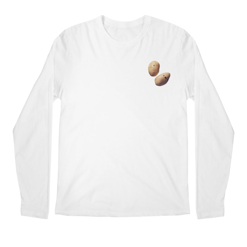 Oh Potatoes Men's Regular Longsleeve T-Shirt by rubberdanpants
