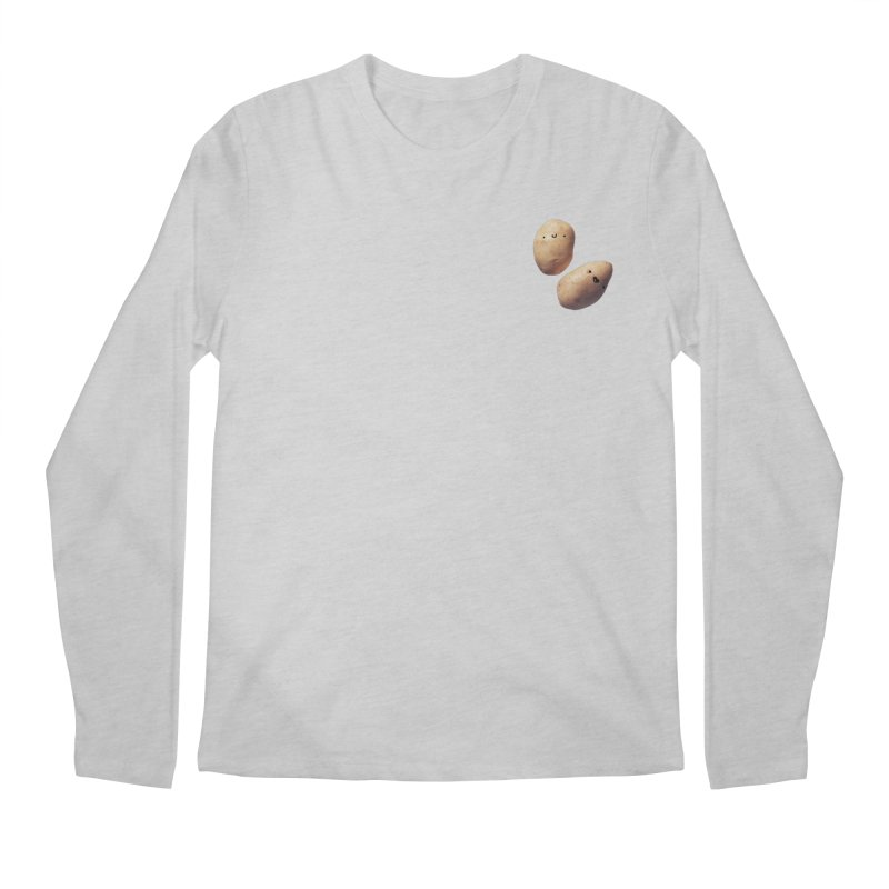 Oh Potatoes Men's Regular Longsleeve T-Shirt by rubberdanpants