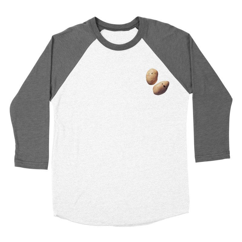 Oh Potatoes Women's Baseball Triblend Longsleeve T-Shirt by rubberdanpants