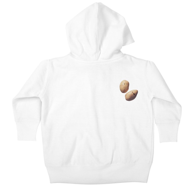 Oh Potatoes Kids Baby Zip-Up Hoody by rubberdanpants