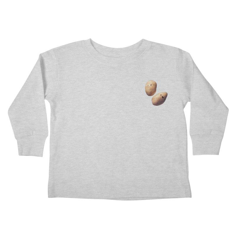 Oh Potatoes Kids Toddler Longsleeve T-Shirt by rubberdanpants