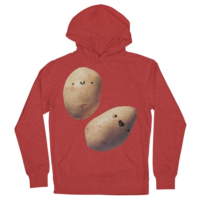 Oh Potatoes Women's French Terry Pullover Hoody by rubberdanpants