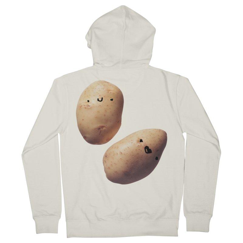 Oh Potatoes Women's French Terry Zip-Up Hoody by rubberdanpants