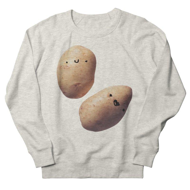 Oh Potatoes Women's French Terry Sweatshirt by rubberdanpants