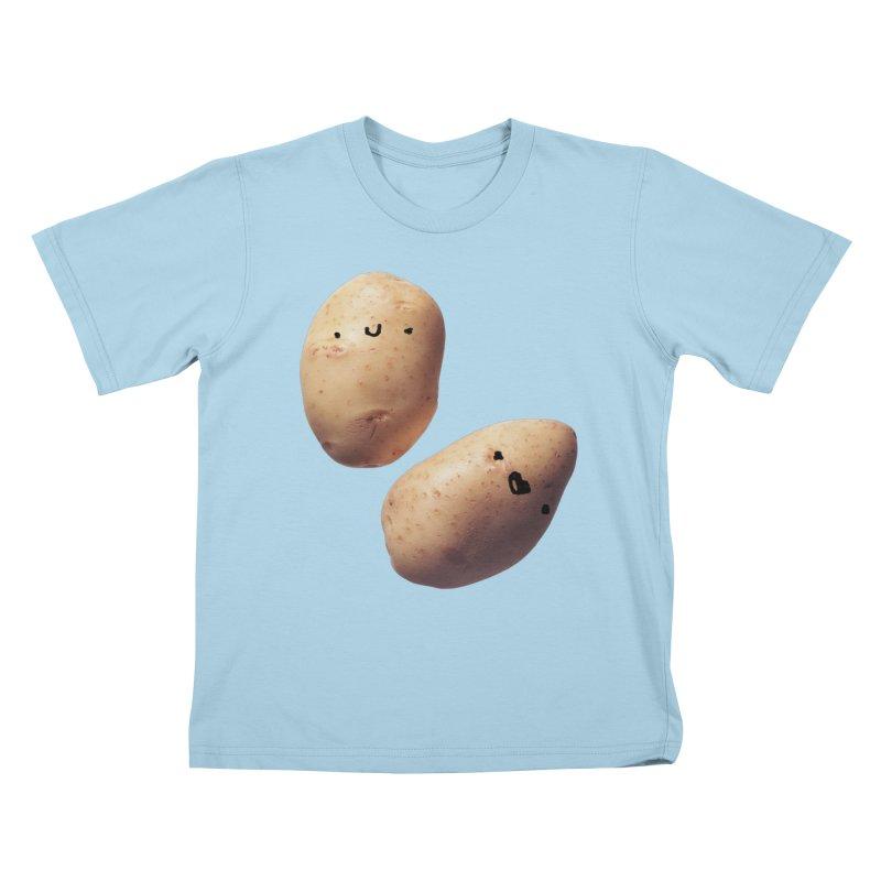 Oh Potatoes Kids T-Shirt by rubberdanpants