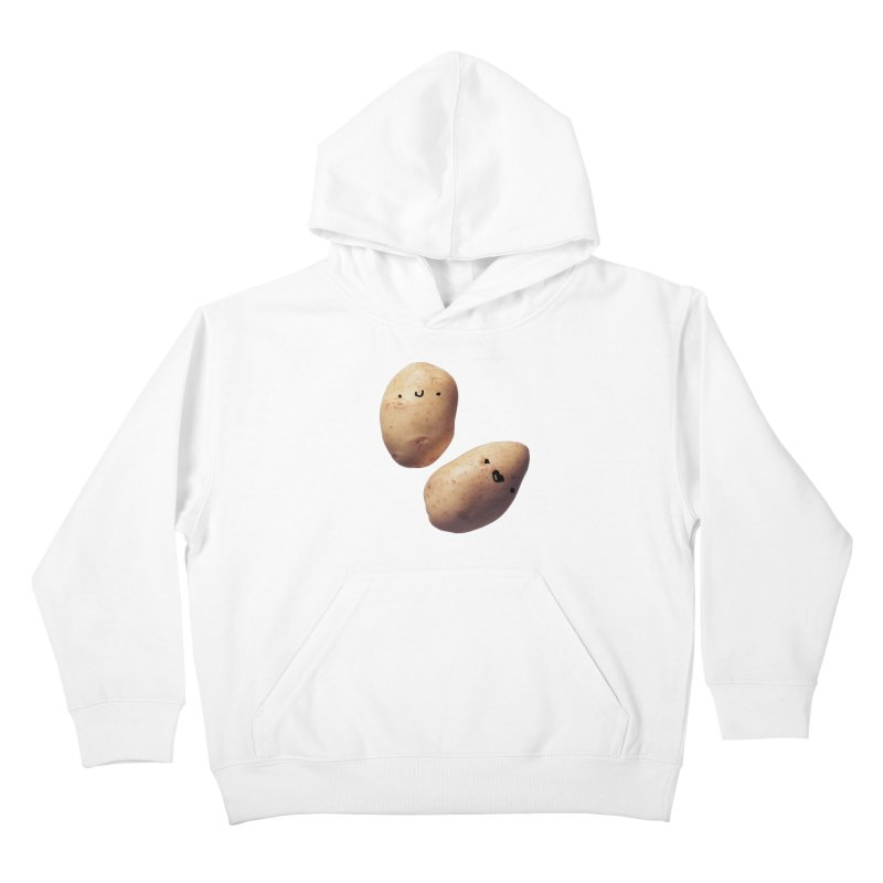 Oh Potatoes Kids Pullover Hoody by rubberdanpants