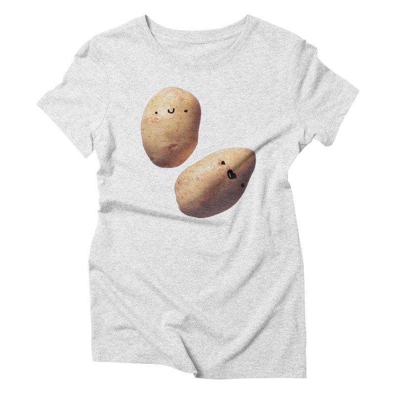 Oh Potatoes Women's T-Shirt by rubberdanpants
