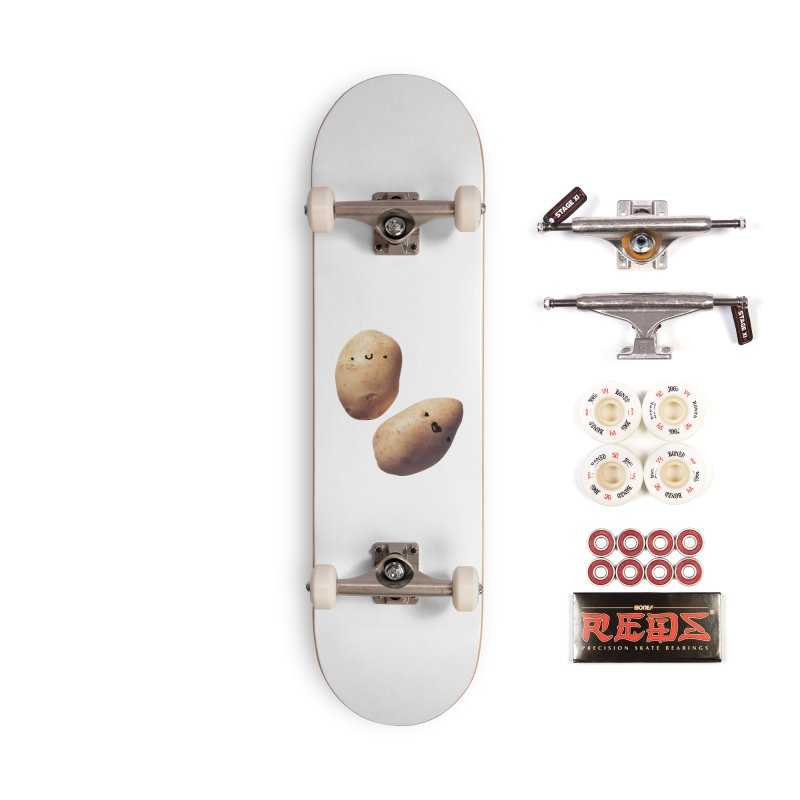 Oh Potatoes Accessories Complete - Pro Skateboard by rubberdanpants