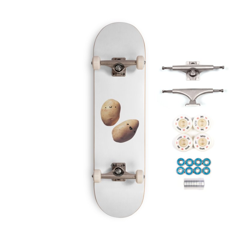 Oh Potatoes Accessories Complete - Premium Skateboard by rubberdanpants