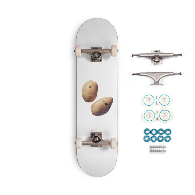 Oh Potatoes Accessories Skateboard by rubberdanpants